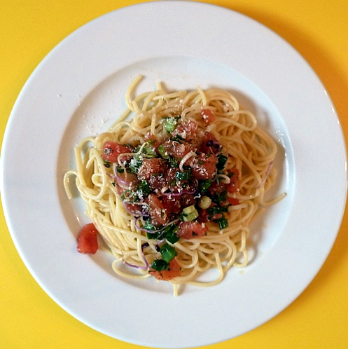 spaghettisalsacruda