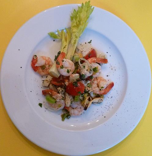 meeresfruchtsalat