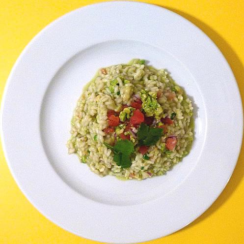risotto-guacamole