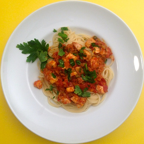 spaghetti-mit-schwertfischragout
