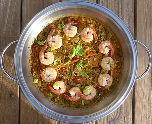Shrimps Jambalaya