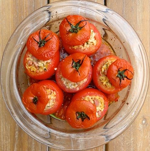 gefuellte Tomaten