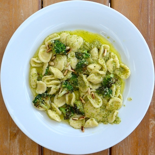 Broccoli Pest Pasta